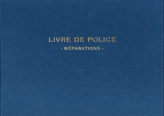 livre de police r paration m taux pr cieux elve 14182 ask s curit. Black Bedroom Furniture Sets. Home Design Ideas